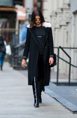 GEORGIA FOWLER Out and About in New York 01/20/2018