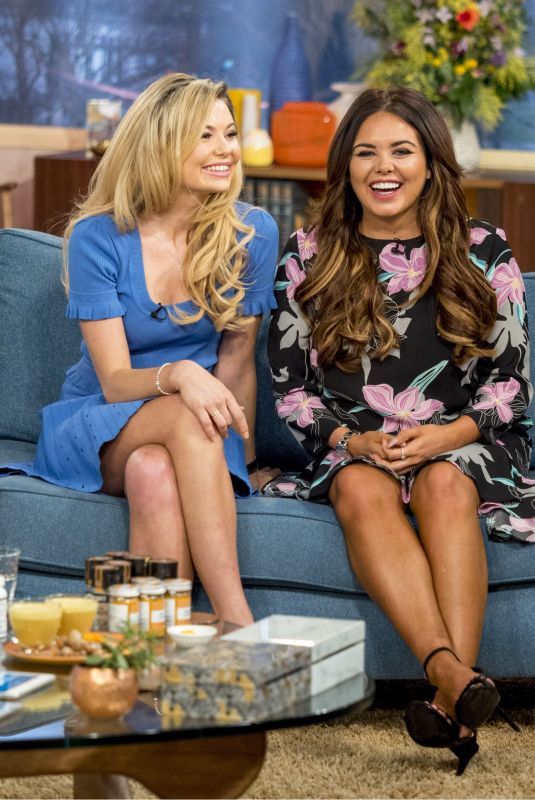 GEORGIA TOFFOLO and SCARLETT MOFFATT at This Morning TV Show in London 01/08/2018