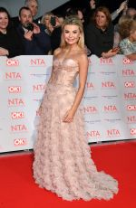 GEORGIA TOFFOLO at National Television Awards in London 01/23/2018