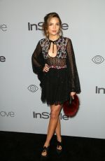 GEORGIE FLORES at Instyle and Warner Bros Golden Globes After-party in Los Angeles 01/07/2018