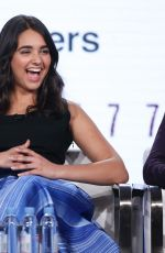 GERALDINE VISWANATHAN at Miracle Workers Show Panel at TCA Winter Press Tour in Los Angeles 01/11/2018