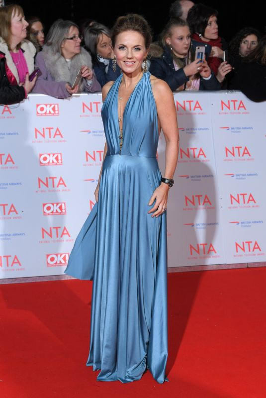 GERI HALLIWELL at National Television Awards in London 01/23/2018