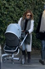 GERI HALLIWELL Out and About  in London 01/17/2018