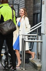 GERI HORNER Leaves ITV Studios in London 01/25/2018