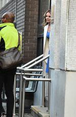 GERI HORNER Leaves ITV Studios in London 01/25/2018