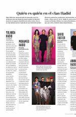 GIGI and BELLA HADID in Mujer Hoy Magazine, January 2018 Issue