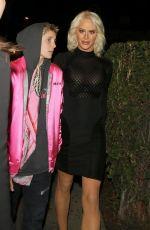 GIGI GORGEOUS Leaves Delilah Nightclub in West Hollywood 01/11/2018
