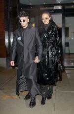GIGI HADID and Zayn Malik Out to Celebrate Zayn