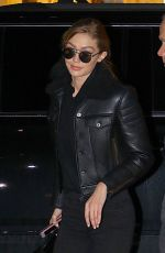 GIGI HADID Arrives at Her Home in New York 01/17/2018