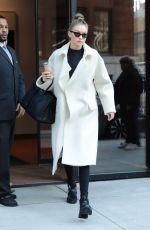 GIGI HADID Leaves Her Home in New York 01/10/2018