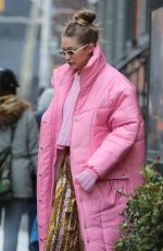 GIGI HADID Out for Lunch in New York 01/09/2018