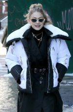 GIGI HADID Out for Lunch New York 01/05/2018
