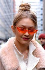 GIGI HADID Shopping at Givenchy Store in New York 01/11/2018