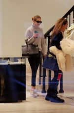 GIGI HADID Shopping at Versace Store in New York 01/15/2018