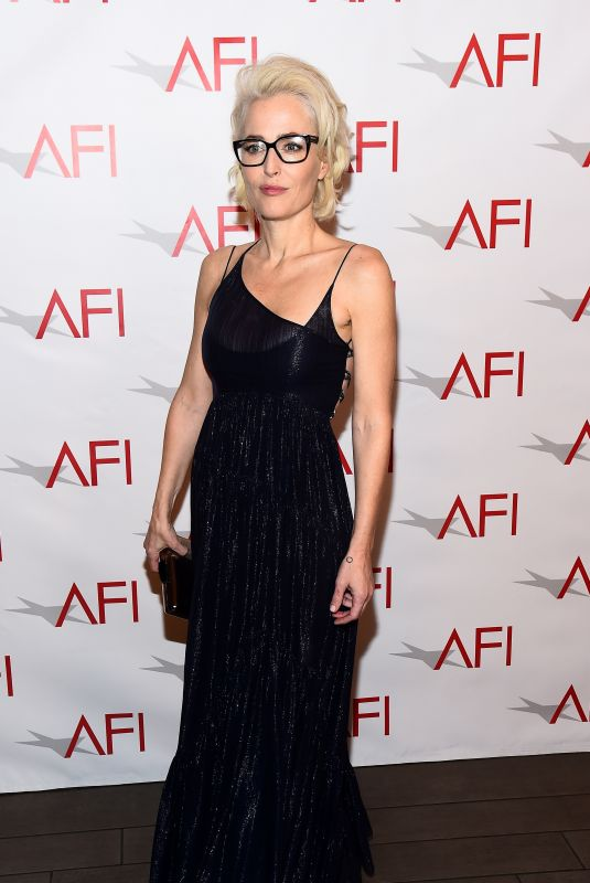 GILLIAN ANDERSON at AFI Awards Luncheon in Los Angeles 01/05/2018