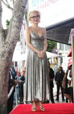 GILLIAN ANDERSON Receives a Star on Hollywood Walk of Fame 01/08/2018