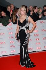 GILLIAN TAYLFORTH at National Television Awards in London 01/23/2018