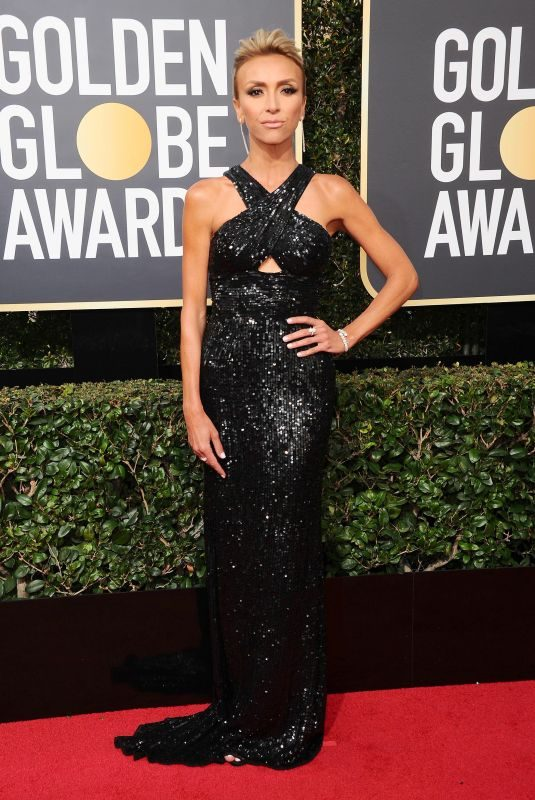 GIULIANA RANCIC at 75th Annual Golden Globe Awards in Beverly Hills 01/07/2018