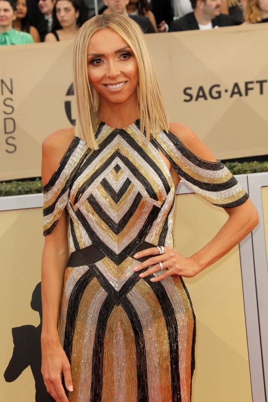 GIULIANA RANCIC at Screen Actors Guild Awards 2018 in Los Angeles 01/21/2018