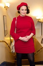 GIZZIE ERSKINE at Beginning Opening Night at Ambassadors Theatre in London 01/23/2018