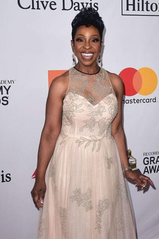 GLADYS KNIGHT at Clive Davis and Recording Academy Pre-Grammy Gala in New York 01/27/2018