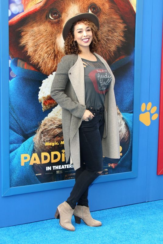 GLORIA GOVAN at Paddington 2 Premiere in Los Angeles 01/06/2018