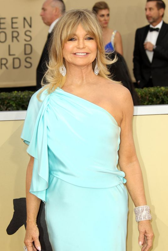 GOLDIE HAWN at Screen Actors Guild Awards 2018 in Los Angeles 01/21/2018