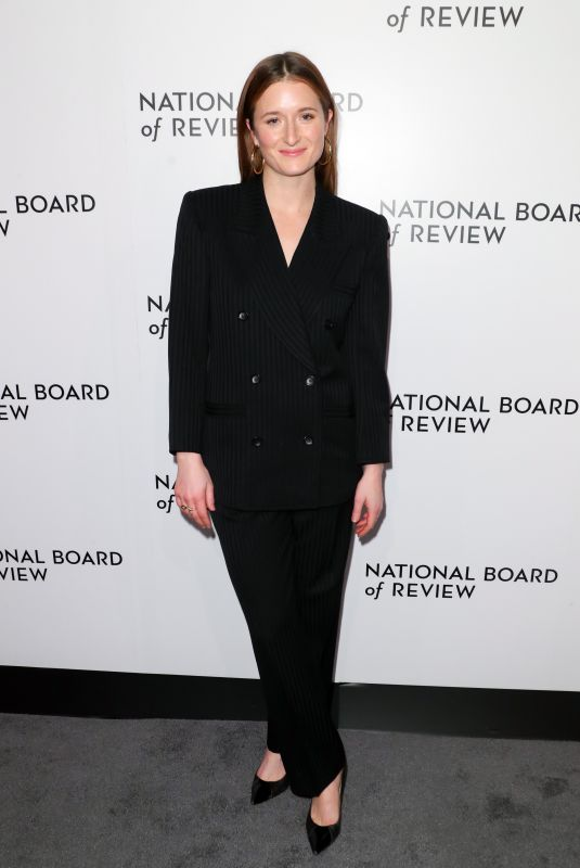 GRACE GUMMER at National Board of Review Annual Awards Gala in New York 01/09/2018