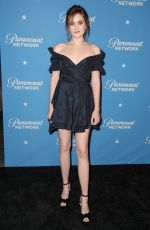 GRACE VICTORIA COX at 2018 Freeform Summit in Hollywood 01/18/2018