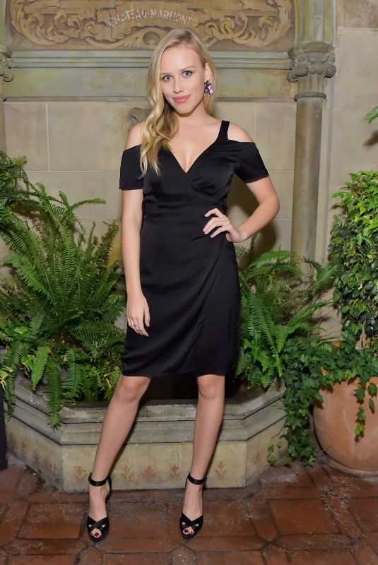 GRACIE DZIENNY at Vanity Fair and Focus Features Celebrate Phantom Thread in Los Angeles 01/10/2018