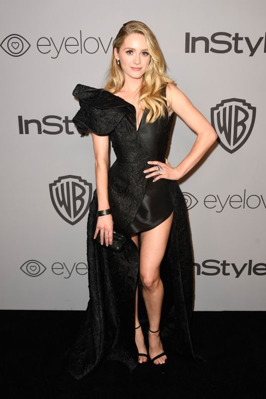 GREER GRAMMER at Instyle and Warner Bros Golden Globes After-party in Los Angeles 01/07/2018