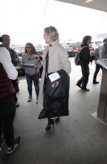 GRETA GERWIG at LAX Airport in Los Angeles 01/08/2018