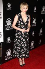 GRETA GERWIG at Los Angeles Film Critics Association Awards 01/13/2018