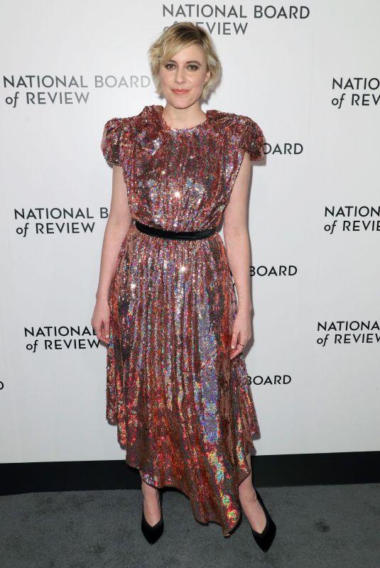GRETA GERWIG at National Board of Review Annual Awards Gala in New York 01/09/2018