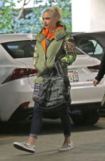 GWEN STEFANI Arrives at Doctors Appointment in Beverly Hill 01/24/2018