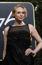 GWENDOLINE CHRISTIE at 75th Annual Golden Globe Awards in Beverly Hills 01/07/2018