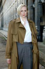 GWENDOLINE CHRISTIE at Louis Vuitton Menswear Fall/Winter 2018/2019 Fashion Show in Paris 01/18/2018