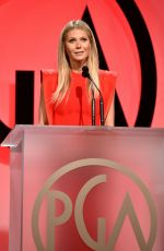 GWYNETH PALTROW at Producers Guild Awards 2018 in Beverly Hills 01/20/2018