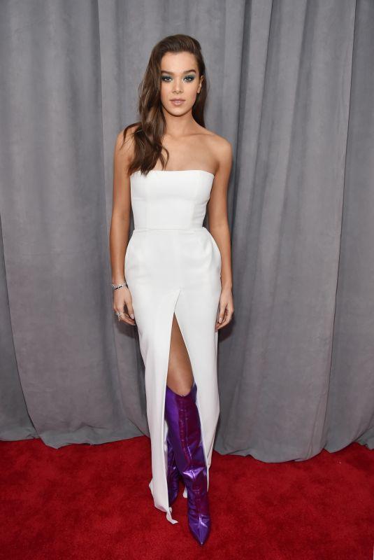 HAILEE STEINFELD at Grammy 2018 Awards in New York 01/28/2018