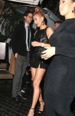HAILEY BALDWIN Arrives at Chateau Marmont in West Hollywood 01/07/2018