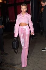 HAILEY BALDWIN Leaves Republic Records Party in New York 01/26/2018