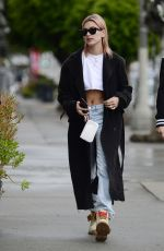 HAILEY BALDWIN Out and About in New York 01/09/2018