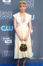 HALEY BENNETT at 2018 Critics' Choice Awards in Santa Monica 01/11/2018