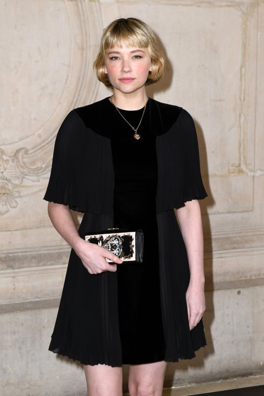 HALEY BENNETT at Cristian Dior Show at Spring/Summer 2018 Haute Couture Fashion Week in Paris 01/23/2018
