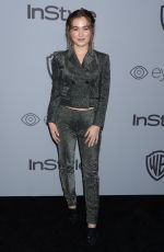 HALEY LU RICHARDSON at Instyle and Warner Bros Golden Globes After-party in Los Angeles 01/07/2018
