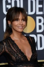 HALLE BERRY at 75th Annual Golden Globe Awards in Beverly Hills 01/07/2018