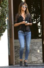 HALLE BERRY Out for Lunch at Cecconi