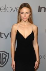 HALSTON SAGE at Instyle and Warner Bros Golden Globes After-party in Los Angeles 01/07/2018
