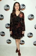 HAYLEY ORRANTIA at ABC All-star Party at TCA Winter Press Tour in Los Angeles 01/08/2018