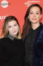 HAYLEY PAPPAS and ALEXANDRIA BOMBACH at On Her Shoulders Premiere at 2018 Sundance Film Festival 01/20/2018
